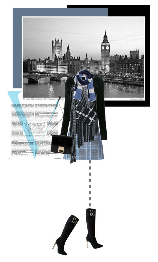 """""""Skyline"""" by noconfessions ❤ liked on Polyvore featuring Victoria Beckham, Versace, 3.1 Phillip Lim and Halogen"""