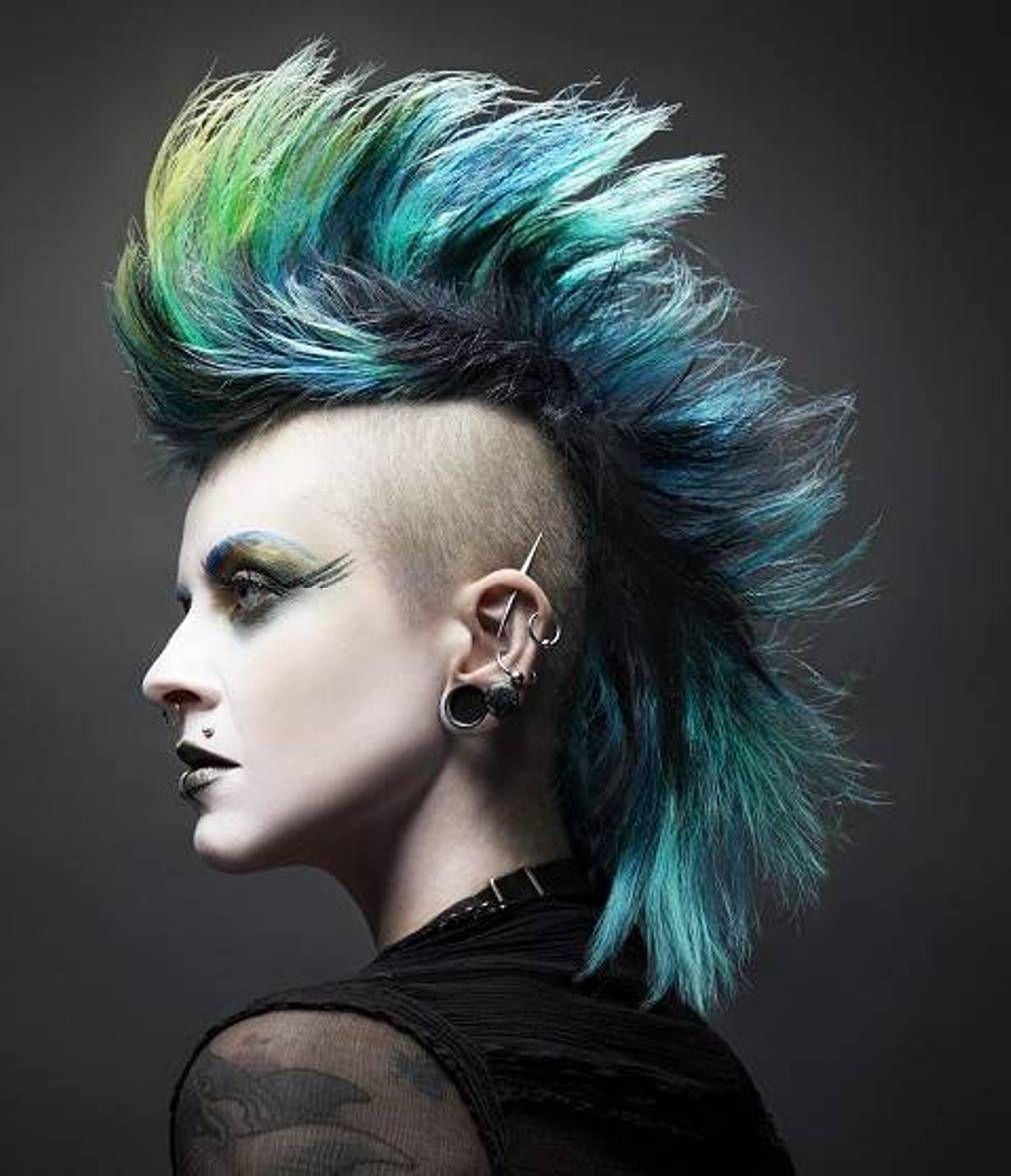 Hairstyle Neo Pop Punk Hairstyles Punk Haircut Rock Hairstyles Goth Hair