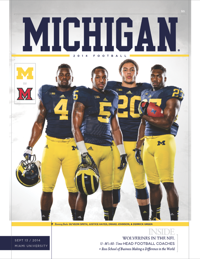Tomorrow's game covers, today! Here's your 2014 University