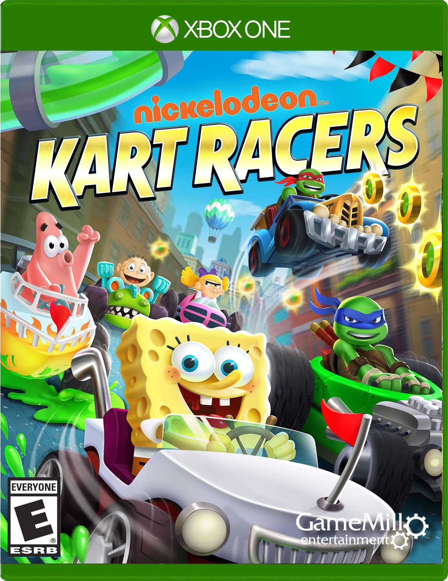 Nickelodeon Kart Racers Xbox One Kart Nickelodeon Xbox Racers Xbox One Games Nickelodeon Xbox One