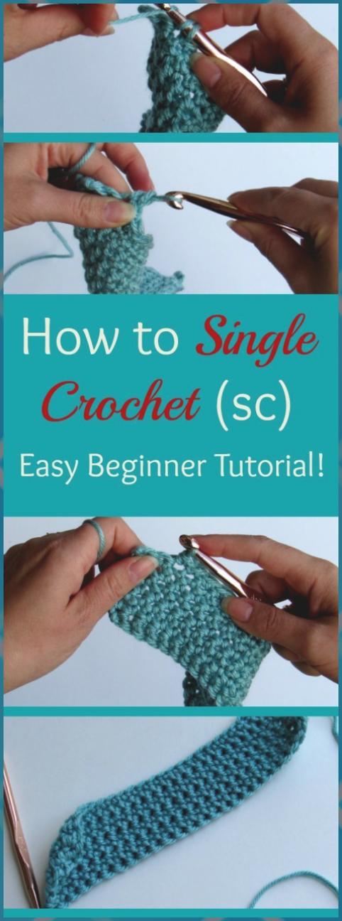 Photo of Hvordan enkelt hekle: 6 enkle trinn – kløe for noen Stitchin #Crochet # Easy …
