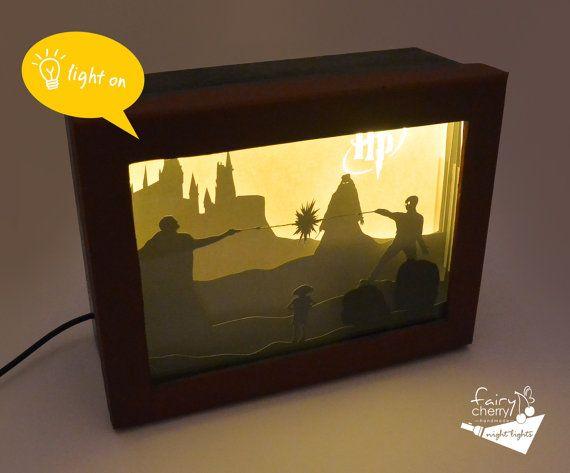 NIGHTMARE BEFORE NOËL Light Up Box Frame