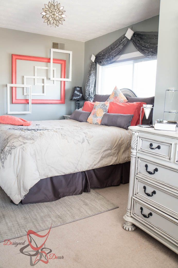 Room Makeover And A Box Bed: Be My Guest~ A Guest Bedroom Makeover!