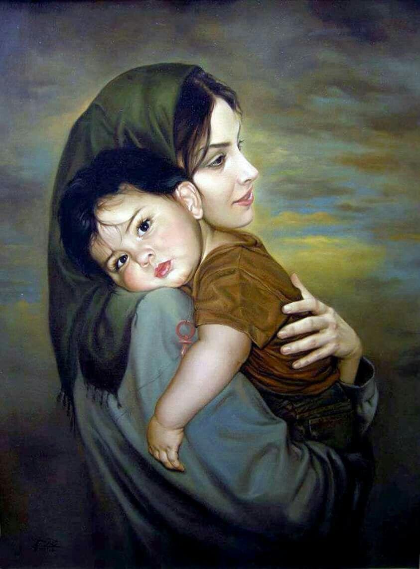 Открытки про маму и сына, тему спокойной ночи