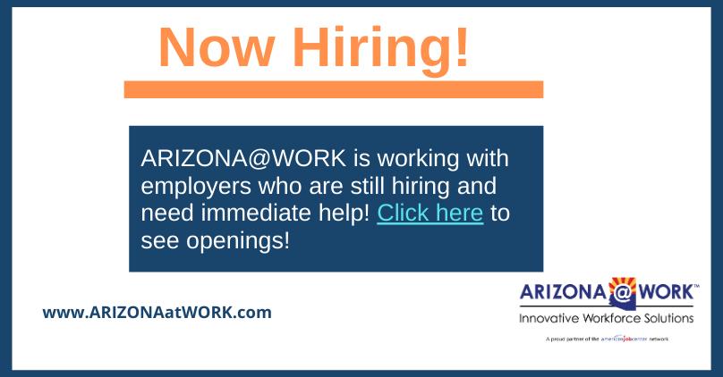 Arizona Employers With Immediate Openings Arizona Work Employment Solutions Innovation