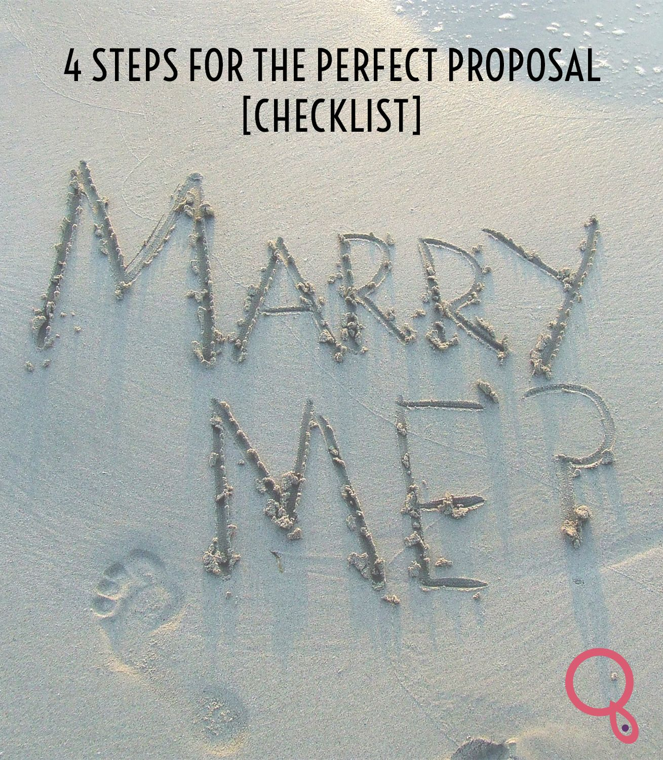 4 Steps For The Perfect Proposal [Checklist]