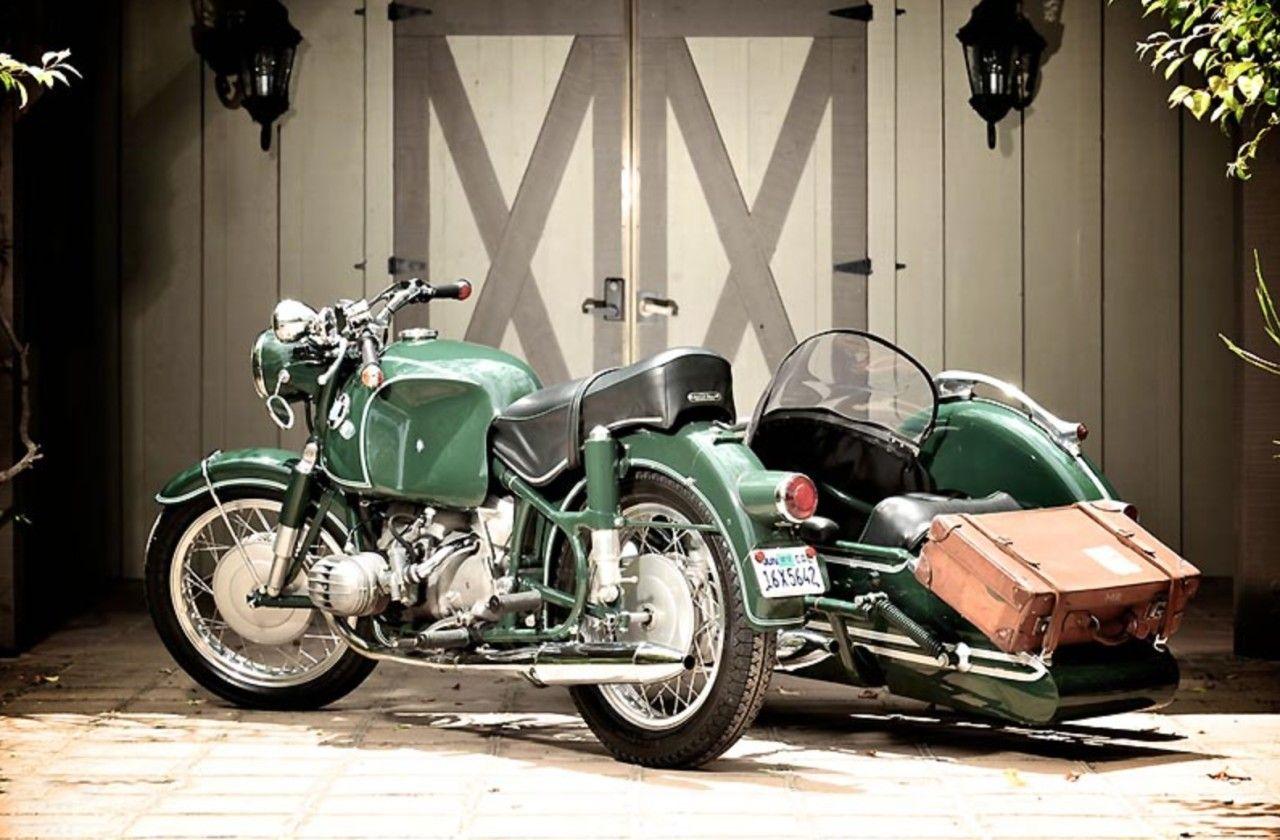 BMW R60 | Мотоцикл, Автомобили, Ретро