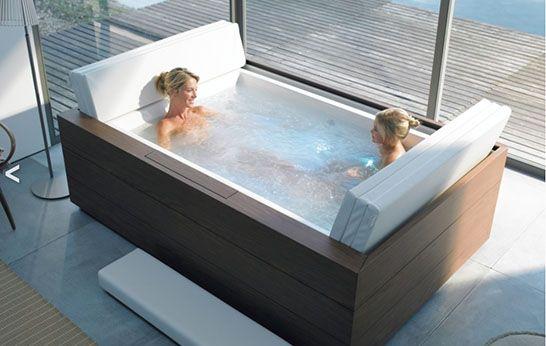 Sundeck Bath By Eoos For Duravit 3rings Bath Tub For Two Tub Pools Luxury Bathtub