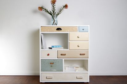 reused drawers, from Berlin, http://www.schubladen.de/index.php?id=moebel