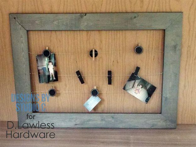 DIY Wire Frame Hanger - D. Lawless Hardware   Our Blog   Pinterest ...