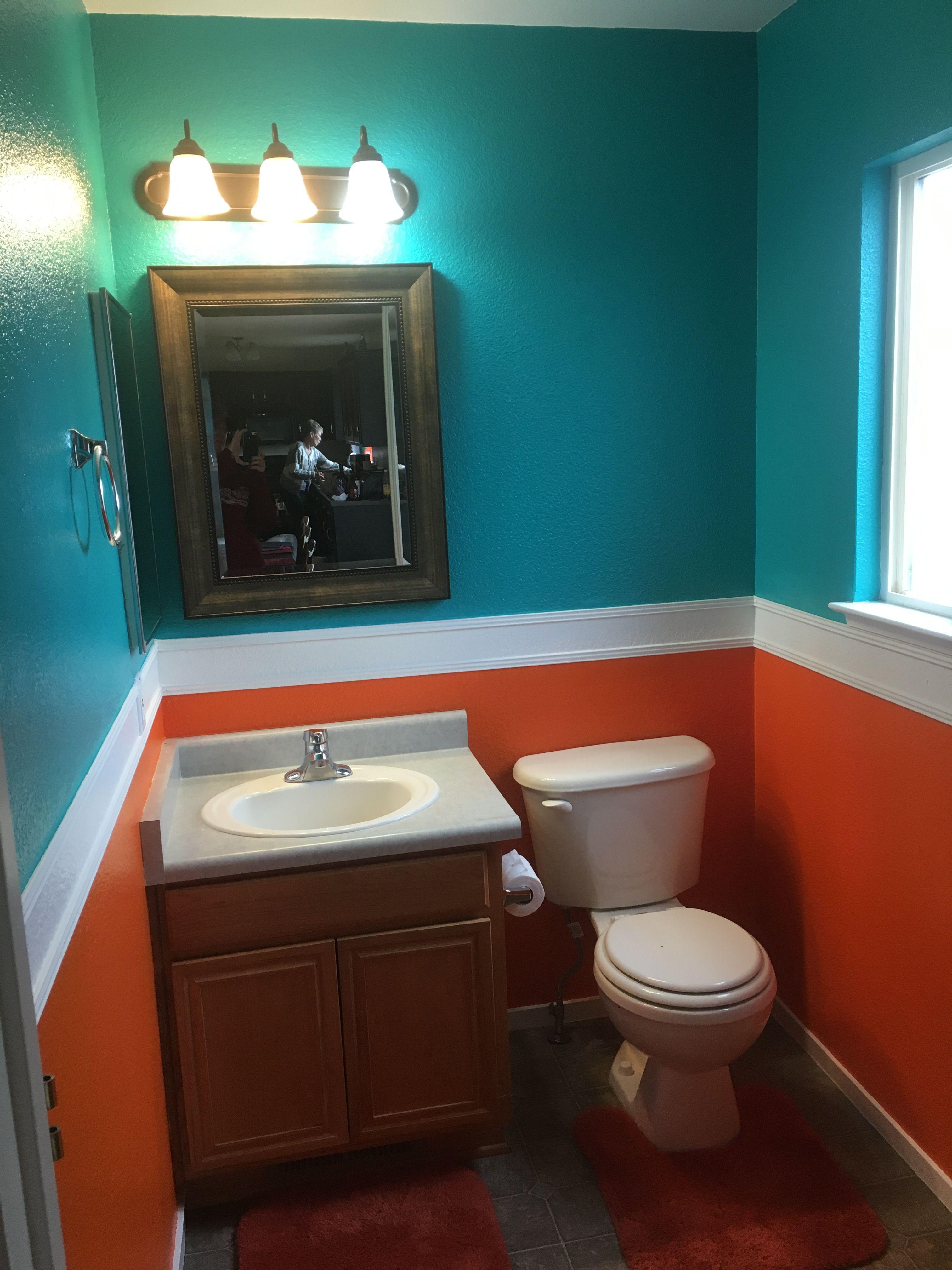 Miami Dolphin bathroom #bathroomdesignmiami in 2019 ...
