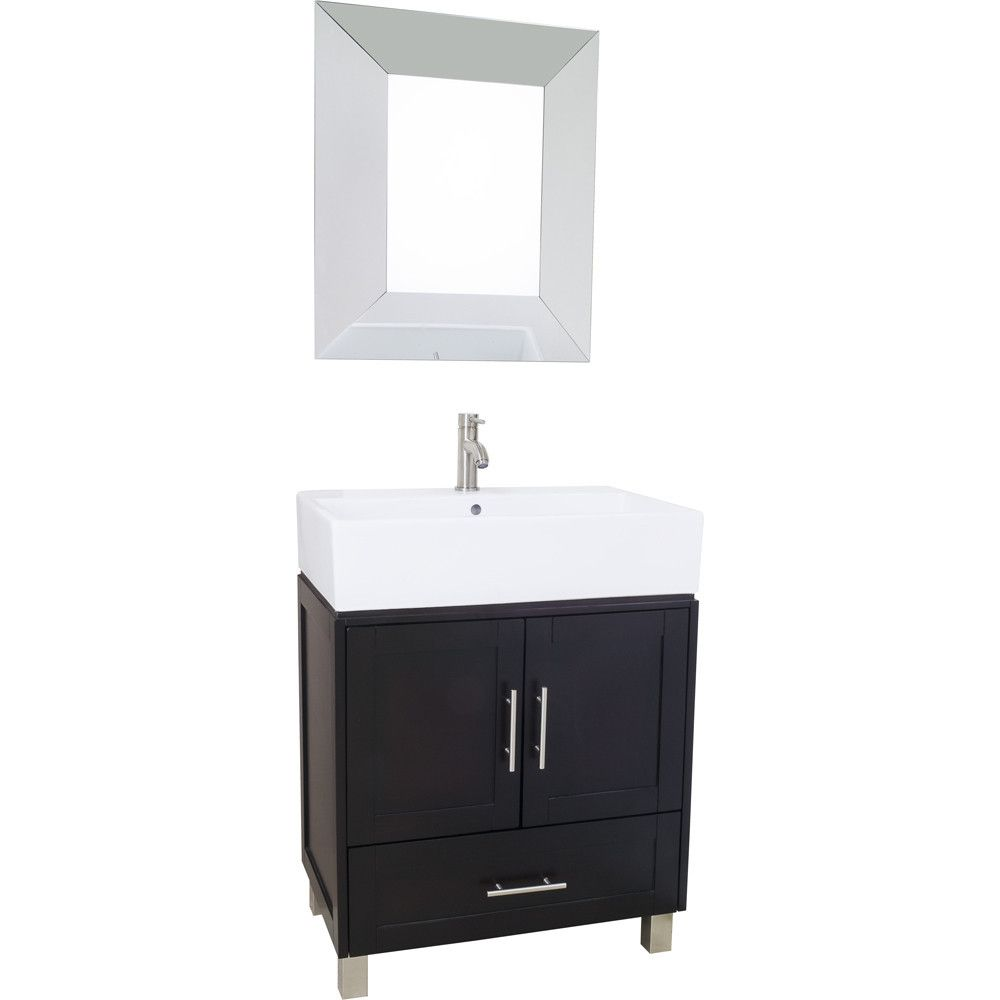 York Vessel 28 Inch Jeffrey Alexander Vanity Single Bathroom Vanity Furniture Vanity Vanity