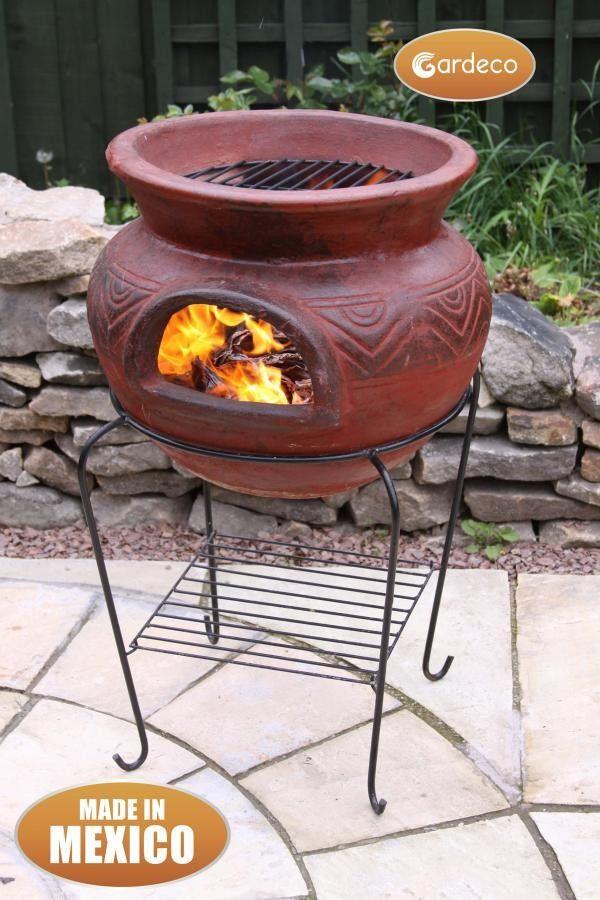 Photo of Gardeco Gardeco Asador Redondo Fire Pit and BBQ Grill