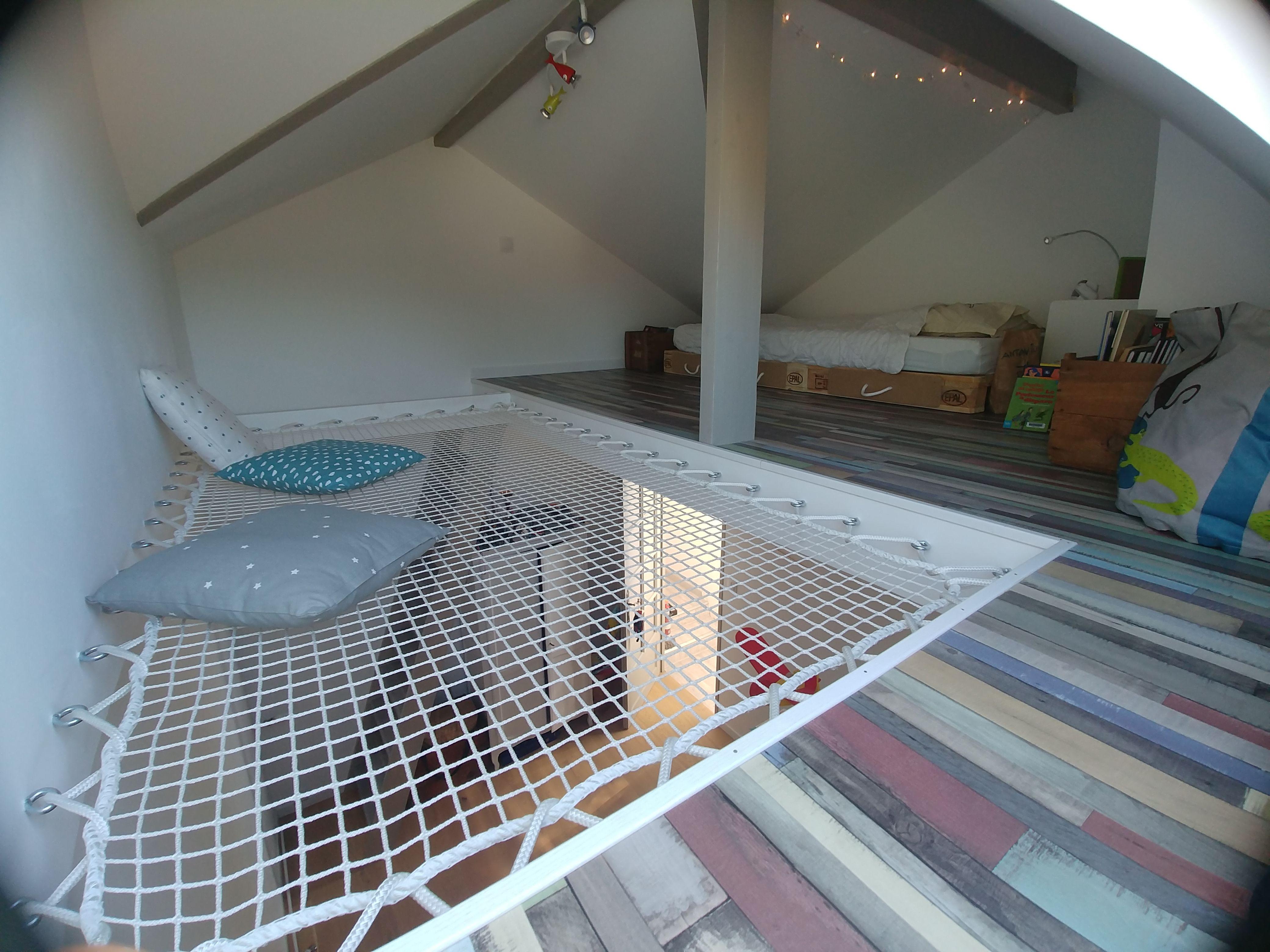 Idée d'aménagement d'une chambre en mezzanine