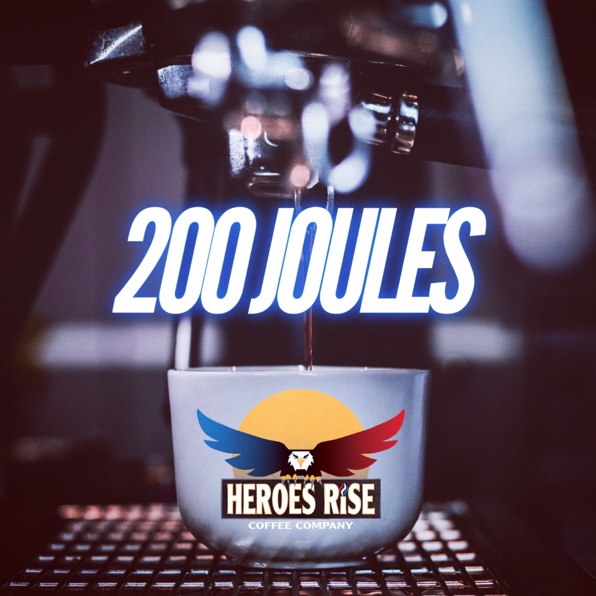 Our espresso blend is like a 200 J DEFIB! in 2020 Coffee