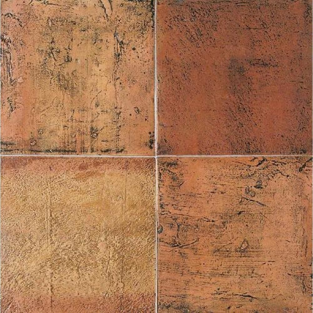 Daltile Saltillo Sealed Antique Red 12 In X 12 In Ceramic Floor And Wall Tile 10 Sq Ft Case Discontinued St8012121p The Home Depot Daltile Flooring Ceramic Floor