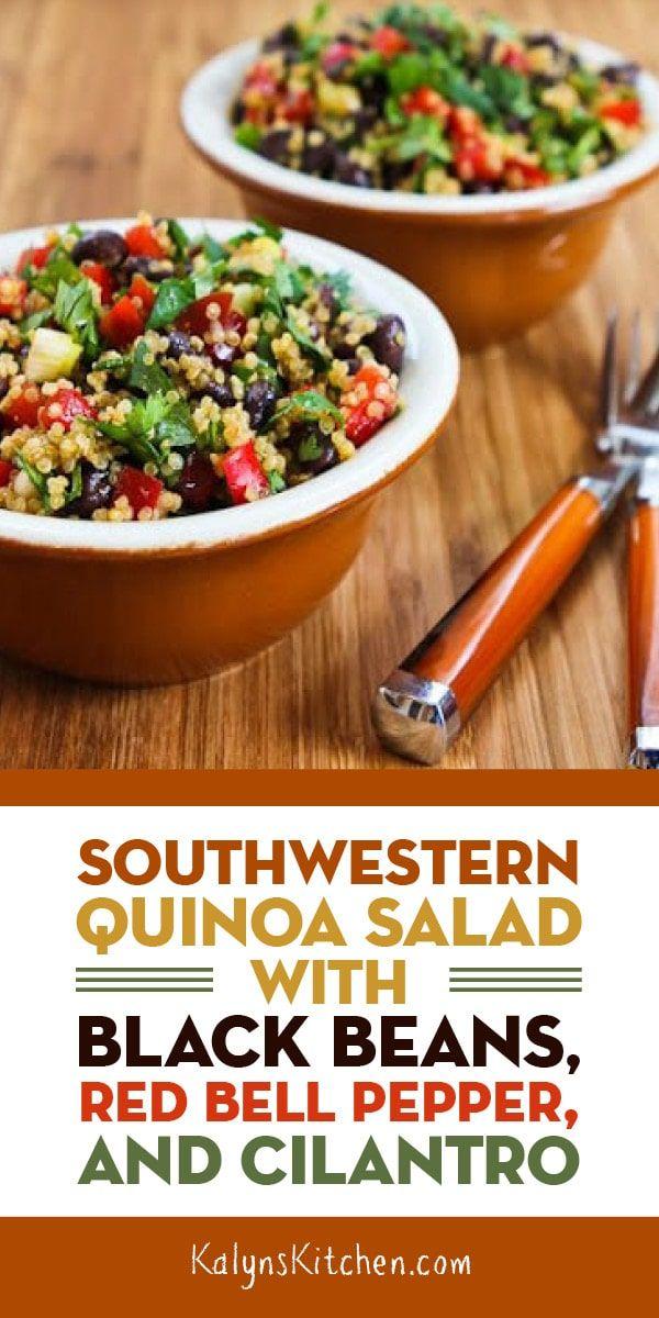 Southwestern Quinoa Salad with Black Beans – Kalyn's Kitchen