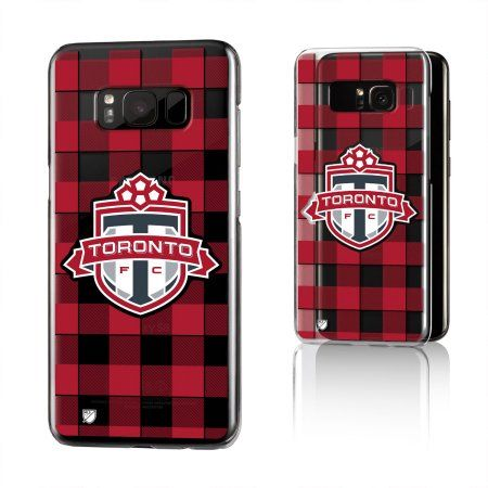 best service c3ce0 03f7d Toronto FC ALL FOR ONE Plaid Clear Case for Galaxy S8 in 2019 ...