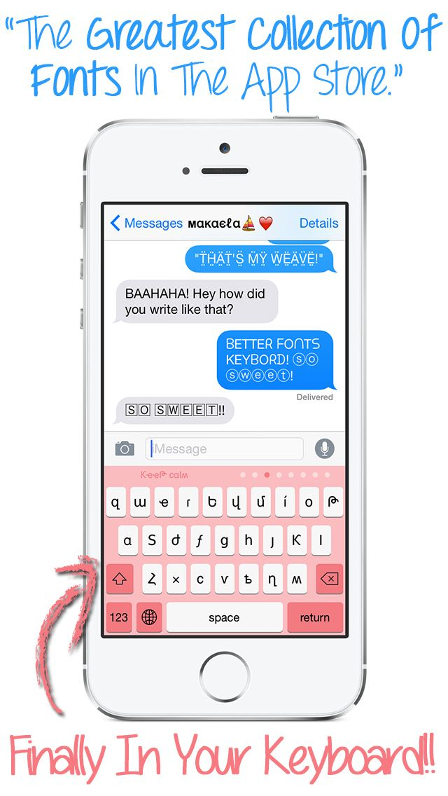 best font keyboard for iphone