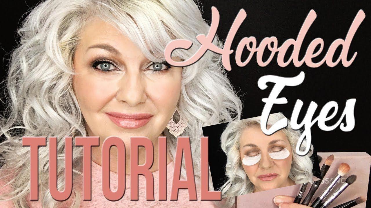 GRWM...Hooded Eyes Makeup Tutorial Over 50! YouTube