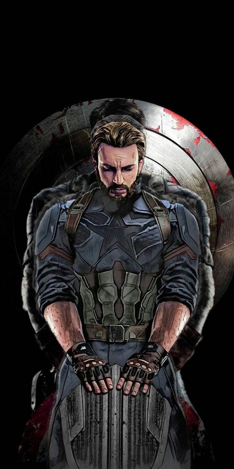 Captain America Wallpaper 4k Captain America Wallpaper Captain America Art Marvel Superhero Posters
