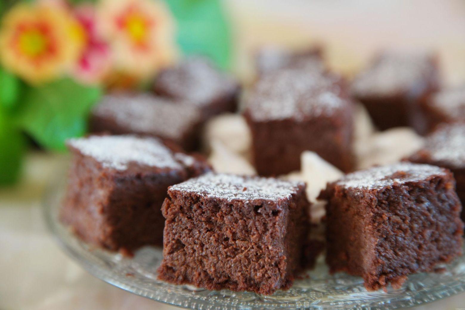 Moelleux surprise au chocolat sans beurre et sans gluten ...