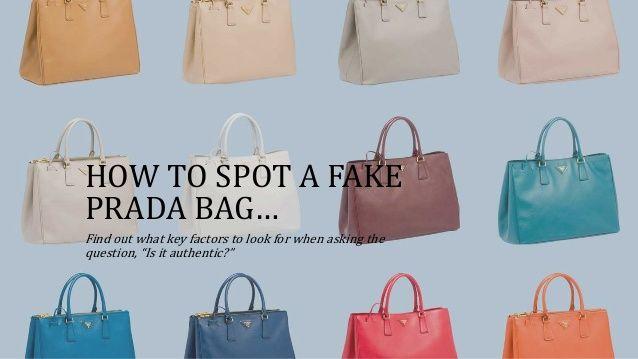How to spot a FAKE Prada bag! The 5 simple checks.  ed3d65199c372