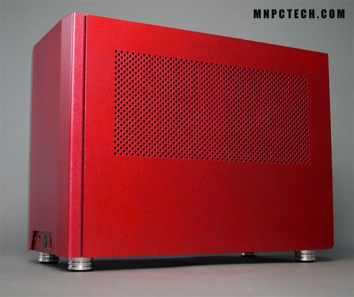 NCASE M1 custom replacement case feet, Silver | Gaming PC