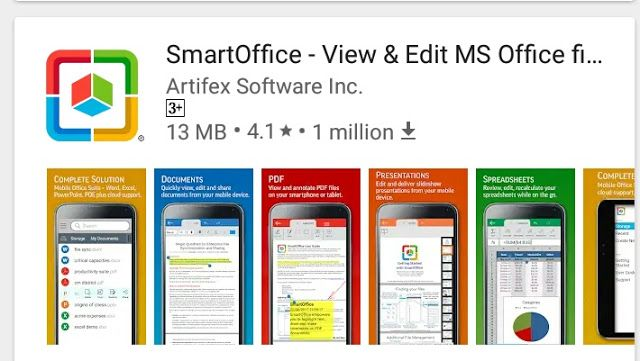 How to do all Microsoft office work on Android Teckmantra