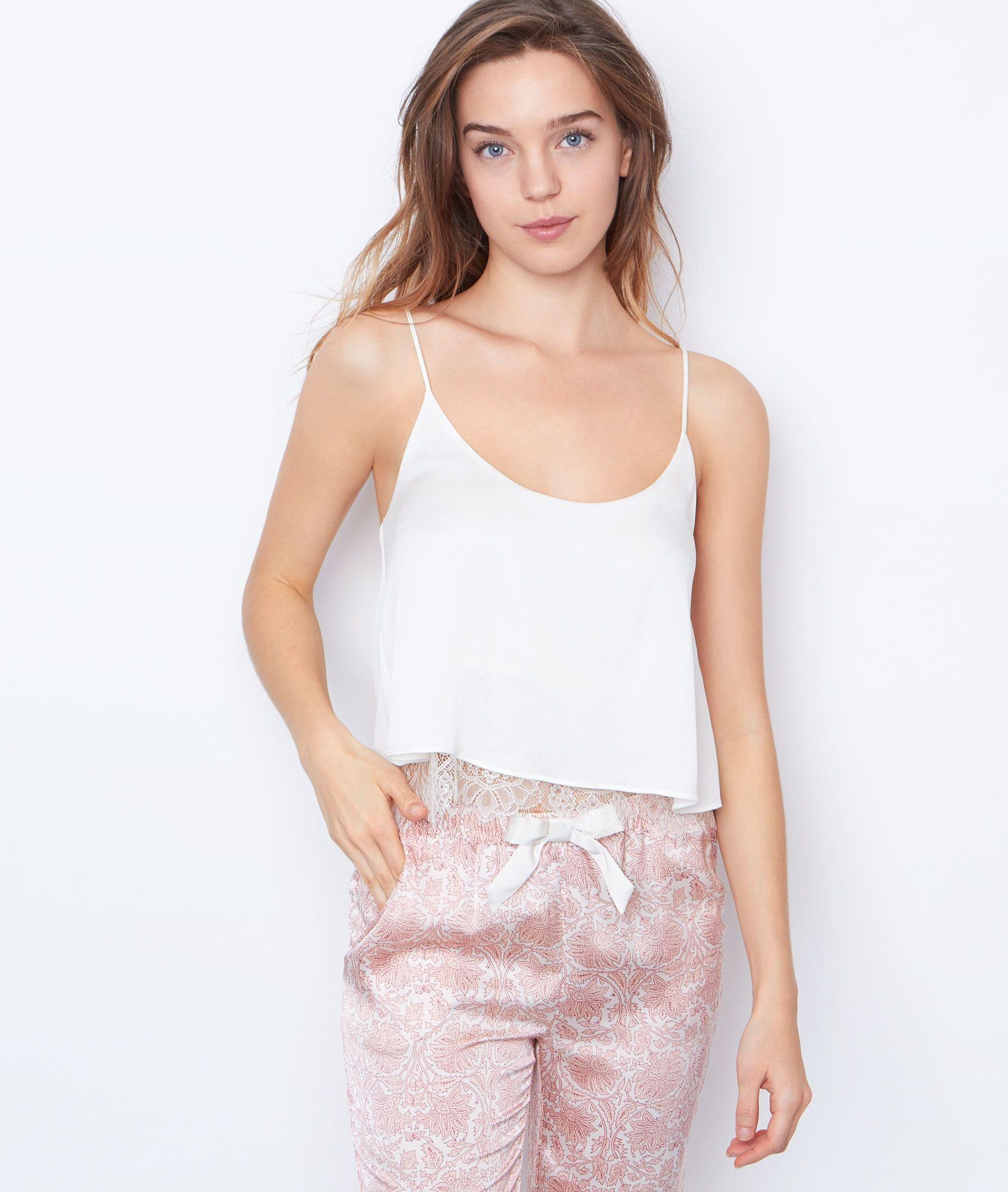 sélectionner pour authentique trouver le travail classique chic PYJAMA OBERTEILE - ETAM | Be jamms | Pyjamas, Tank tops, Tops
