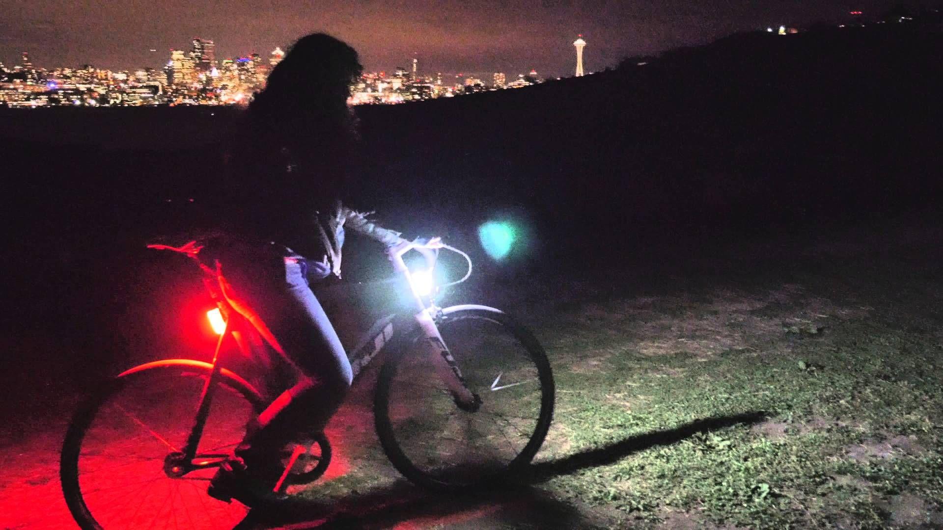 Never Stop Riding Bikes At Night Just Because Sun Has Set Having