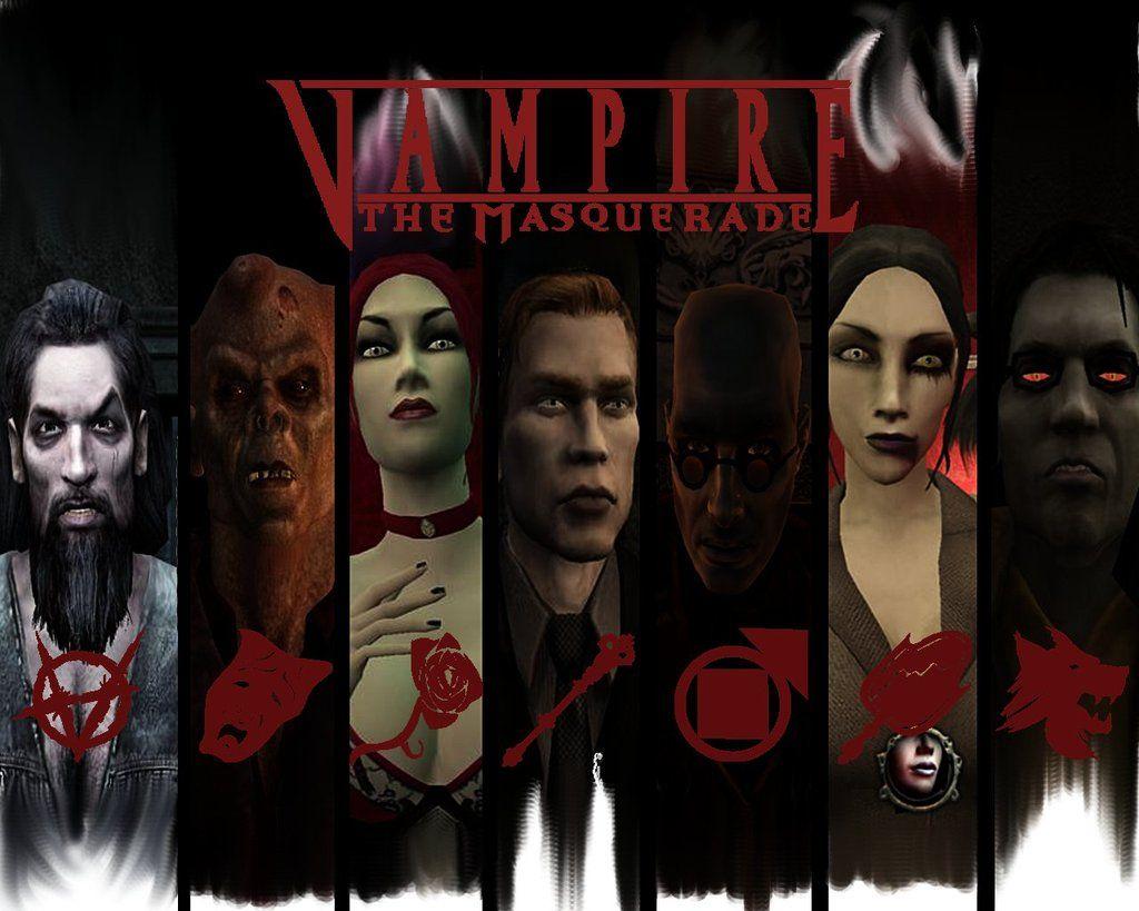 Vampires The Masquerade Wall By Ripcityxx1 Deviantart Com On