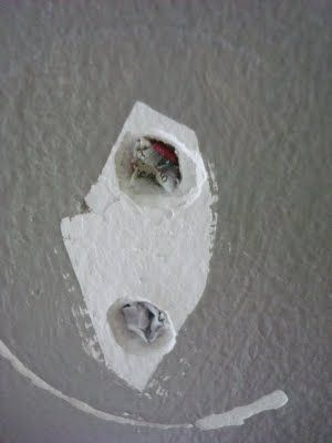 How to fill screw holes in drywall without painting