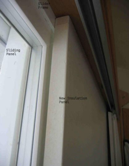 Superbe Insulating A Sliding Glass Door. They Insulate For The Winter I Need It For  Our