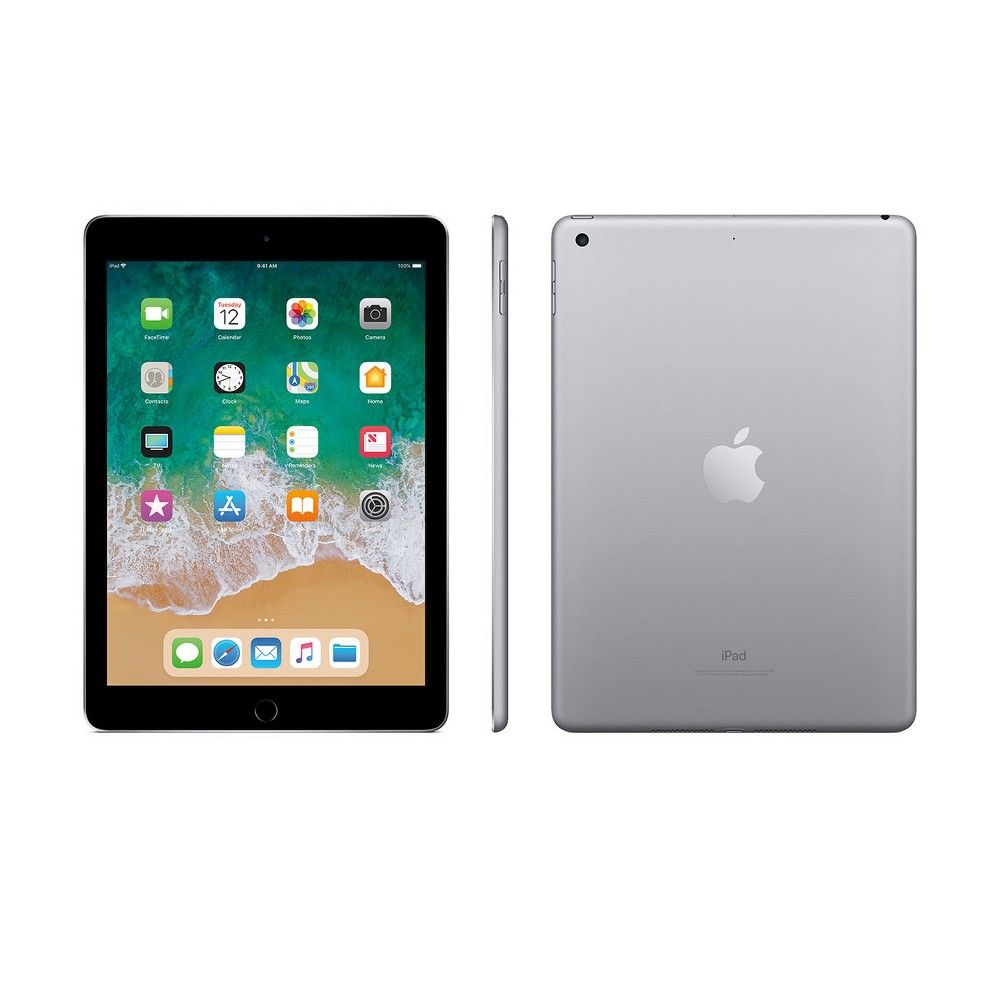 Apple Ipad 9 7 Inch 128gb Wi Fi Only 2018 Model 6th Generation Mr7j2ll A Space Gray Apple Ipad Touch Screen Phones Ipad