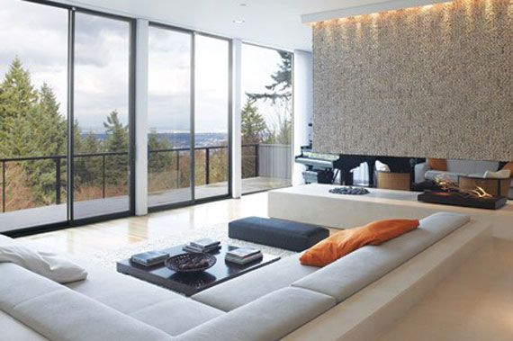 Best Sunken Living Room Designs (41 Conversation Pits) Part 50