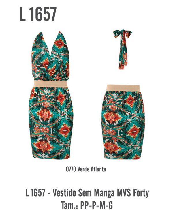 Vestido L1657 - R$ 139,00