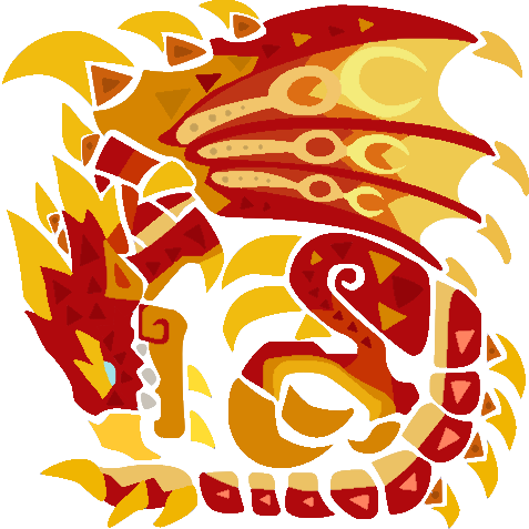 Flame Rathalos Mhw Rendition Monster Hunter World Monster Hunter Surreal Art