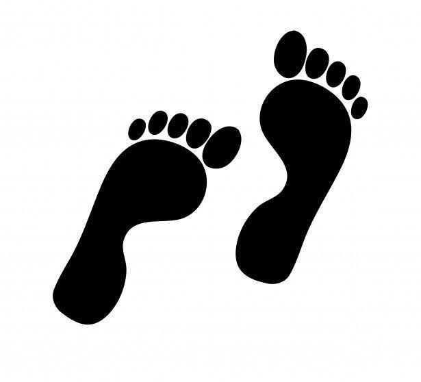 pin oleh submissivenes di clip art jejak kaki kaki gambar pinterest