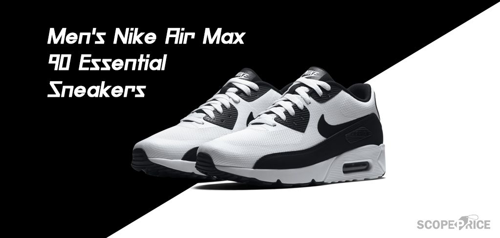 New Men/'s Nike Air Max 90 Essential Shoes Sneakers Casual Athletic Sizes 8-13