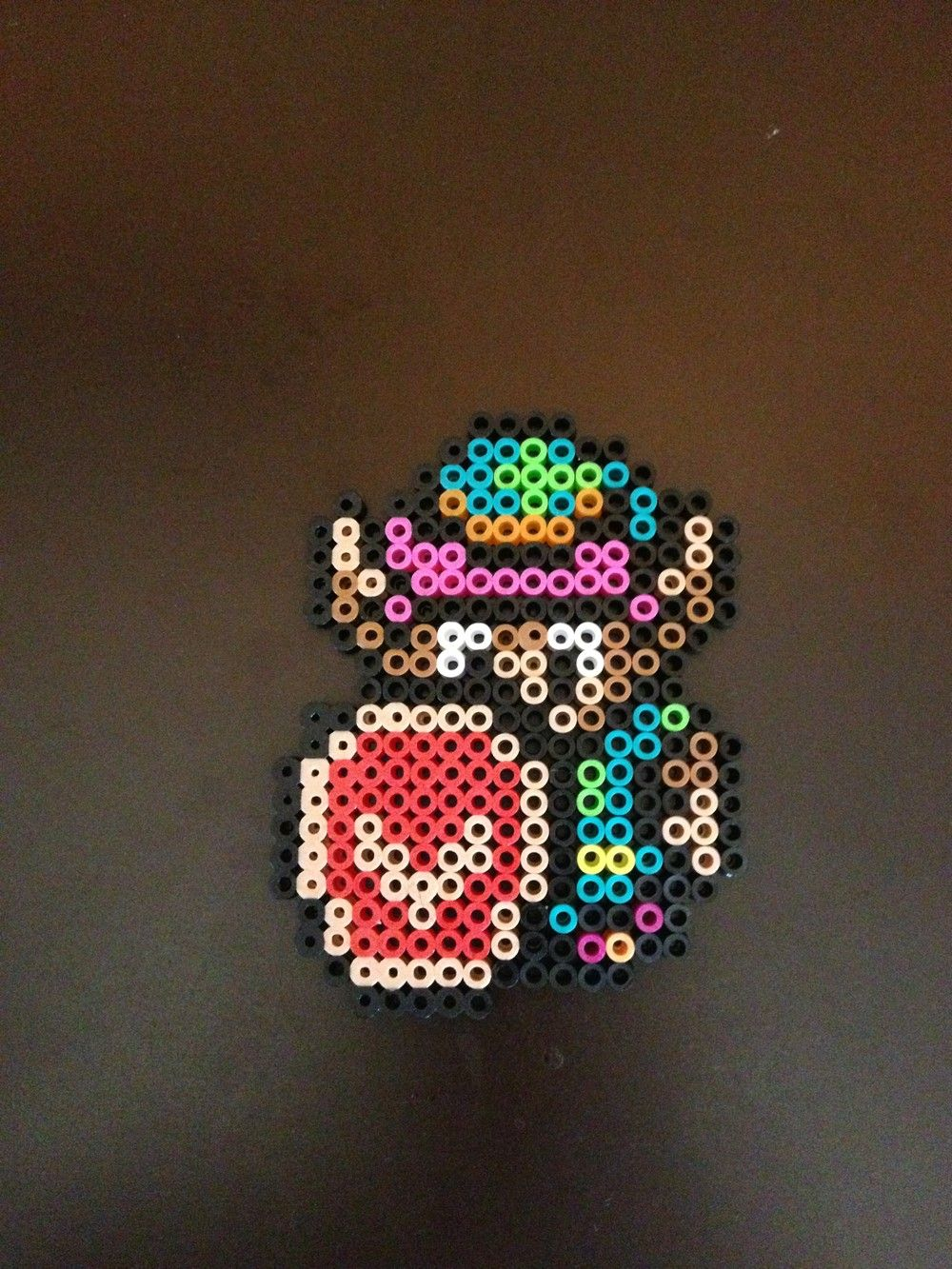 A Link To The Past 8 Bit Perler Link Via Eb Perler Click On The