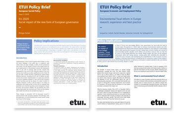 Policy Brief Design Brief Design