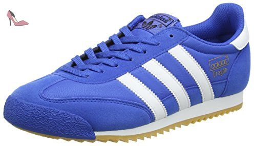 Adidas Dragon OG, Baskets Basses Homme, Bleu (Blue/Footwear ...