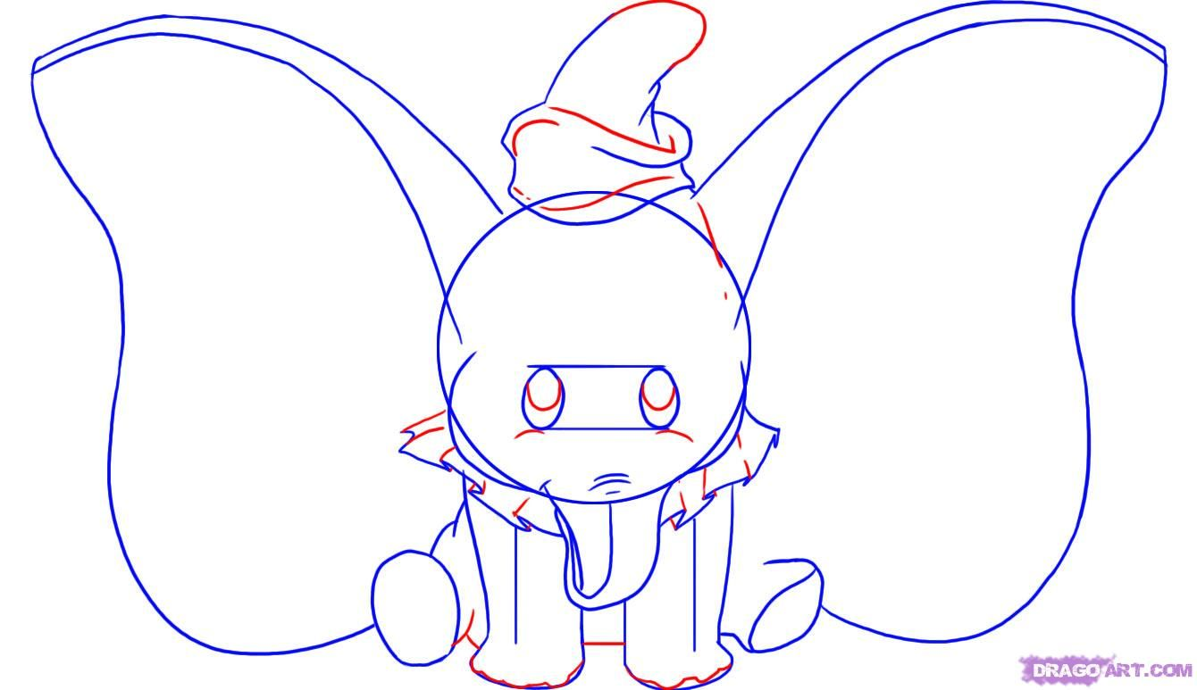 Disney Characters That Start with S | how to draw dumbo ...