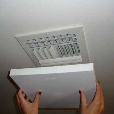 Magnetic A C Vent Cover Fits 9 1 4 To 10 3 4 Steel A C Vents Vent Covers Ceiling Vents Wall Vents