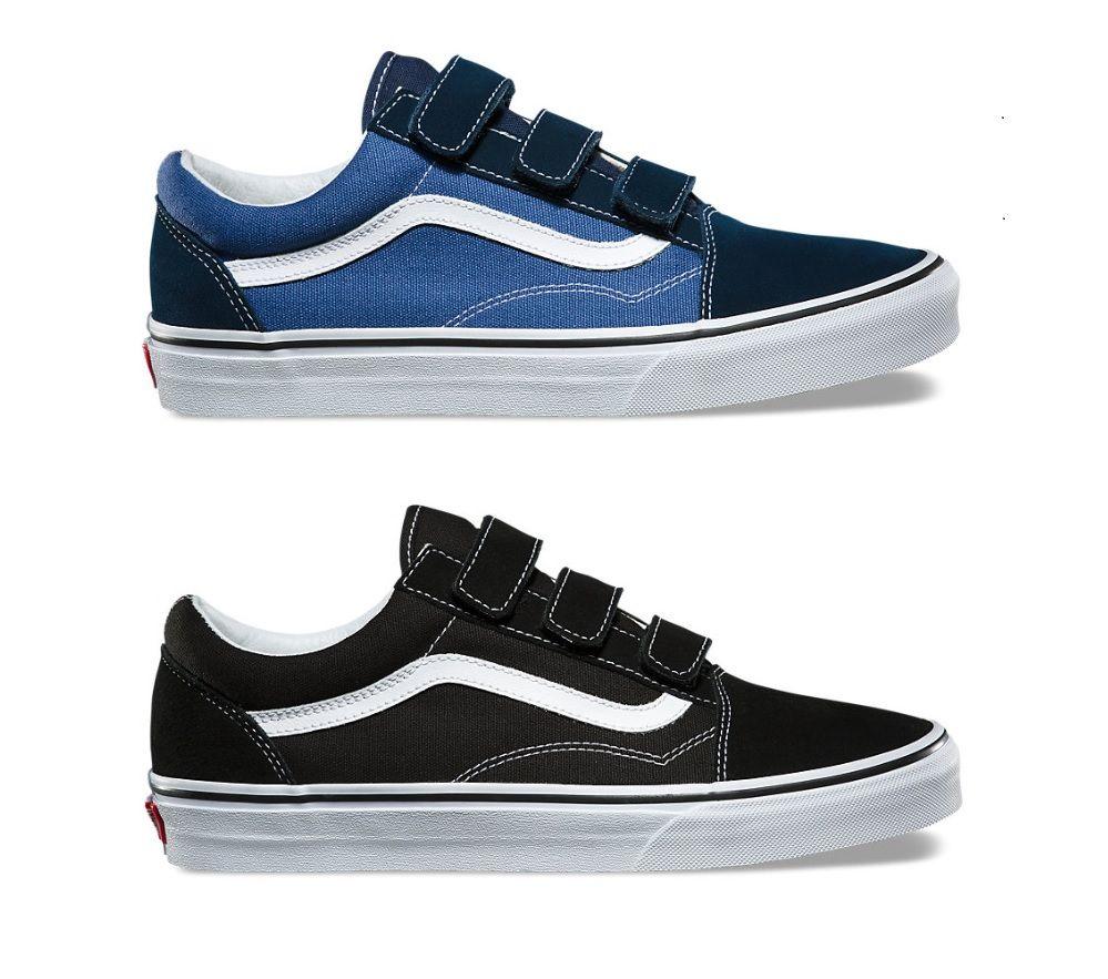 Vans Suede Canvas Old Skool V Skate ShoesSneakers in 2020