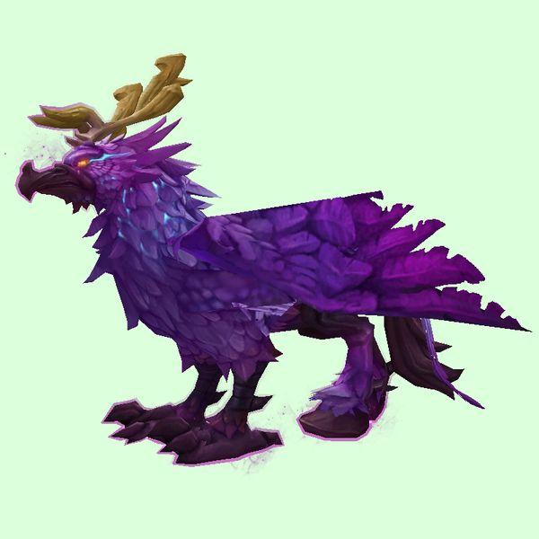 Arcane Purple Hippogryph Purple, Character art, Creatures