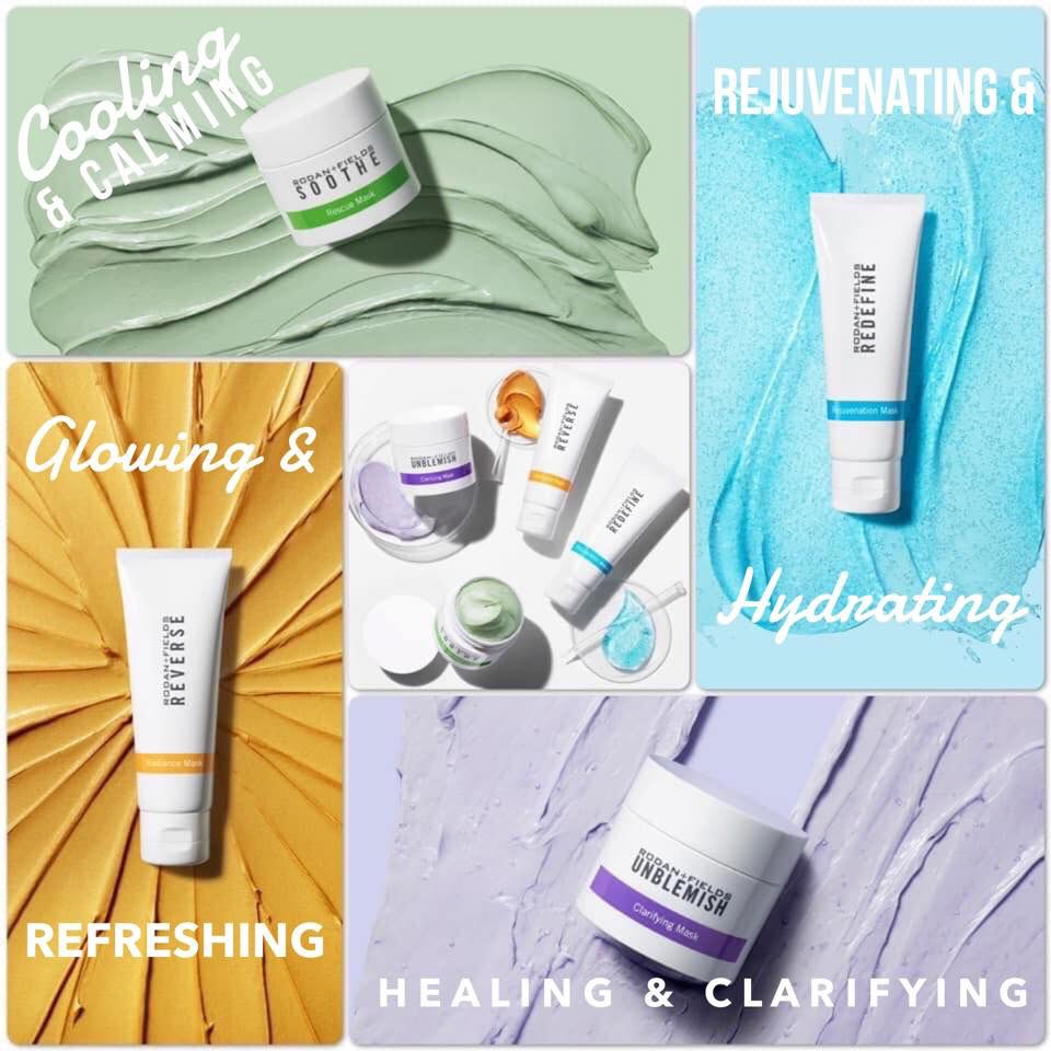 Mix N Mask Rf Style Rodan And Fields Regimen Rodan And Fields Life Changing Skincare