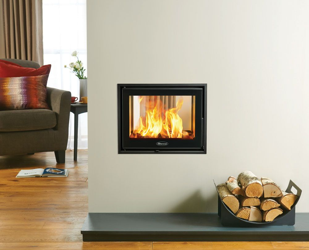 This Outstanding Double Sided Cassette Wood Burning Fire Combines Big Impact With Compact Dimensi Double Sided Stove Wood Burning Stove Wood Burning Stoves Uk