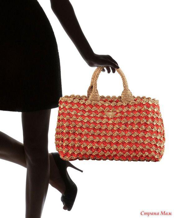 Prada - Handbags Crochet